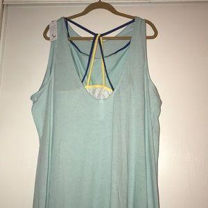 NWTLane Bryant size 22/24 pajamas w/detachable bra